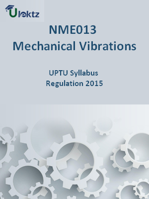 Mechanical Vibrations - Syllabus