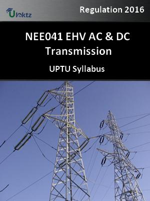 EHV AC & DC Transmission - Syllabus