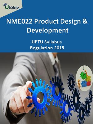 Product Design & Development - Syllabus