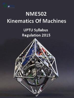 Kinematics Of Machines - Syllabus