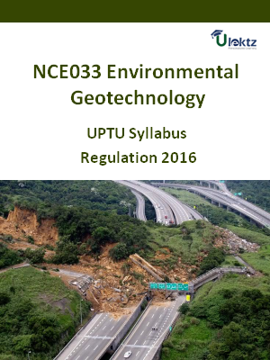 Environmental Geotechnology - Syllabus