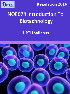 Introduction To Biotechnology - Syllabus