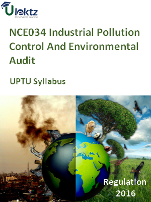 Industrial Pollution Control And Environmental Audit - Syllabus