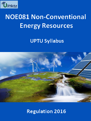 Non-Conventional Energy Resources - Syllabus