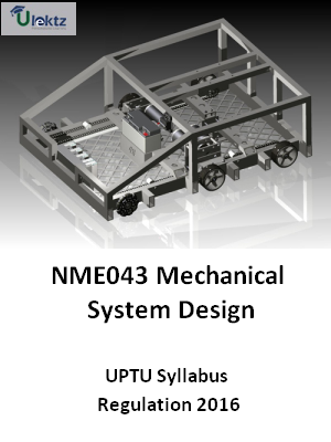 Mechanical System Design - Syllabus