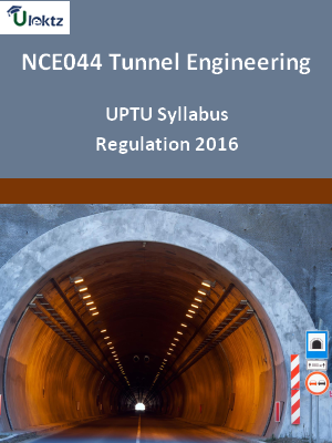Tunnel Engineering - Syllabus