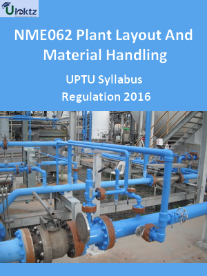Plant Layout And Material Handling - Syllabus