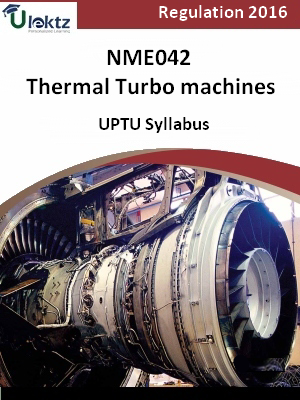 Thermal Turbo machines - Syllabus