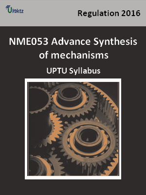 Advance Synthesis of mechanisms - Syllabus