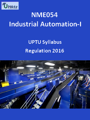 Industrial Automation –I - Syllabus