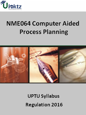Computer Aided Process Planning - Syllabus