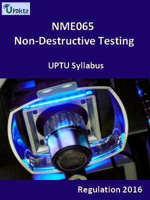 Non-Destructive Testing - Syllabus