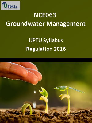 Groundwater Management - Syllabus