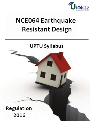 Earthquake Resistant Design - Syllabus