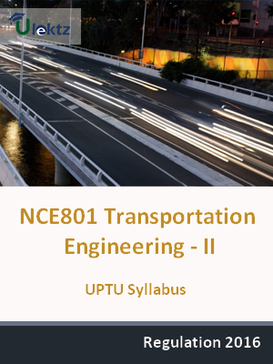 Transportation Engineering - II - Syllabus