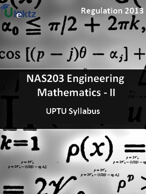 Engineering Mathematics - II - Syllabus