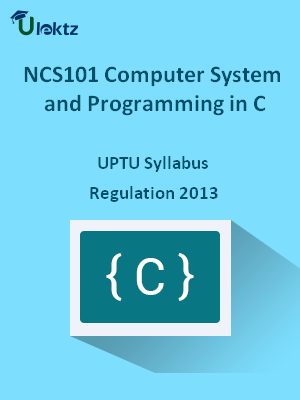 Computer System and Programming in C - Syllabus