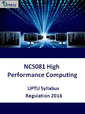 High Performance Computing - Syllabus