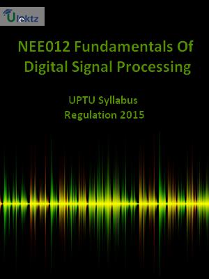 Fundamentals Of Digital Signal Processing - Syllabus