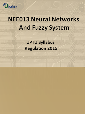 Neural Networks And Fuzzy System - Syllabus