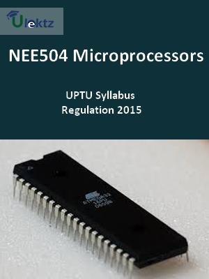 Microprocessors - Syllabus