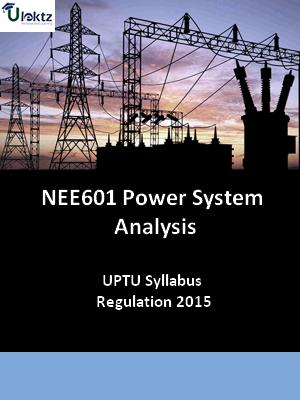 Power System Analysis - Syllabus