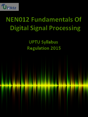 Fundamentals Of Digital Signal Processing - Syllabus