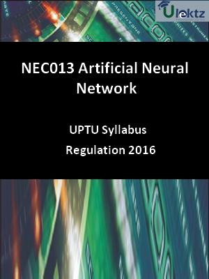 Artificial Neural Network - Syllabus