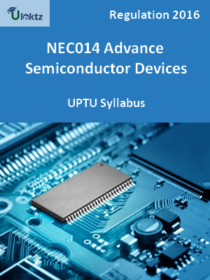 Advance Semiconductor Devices - Syllabus