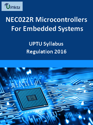 Microcontrollers For Embedded Systems - Syllabus