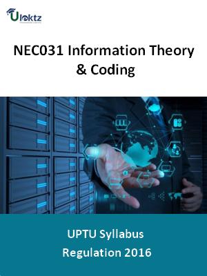 Information Theory & Coding - Syllabus
