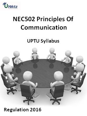 Principles Of Communication - Syllabus
