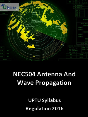 Antenna And Wave Propagation - Syllabus