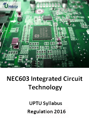 Integrated Circuit Technology - Syllabus
