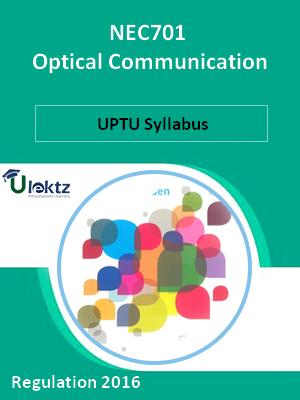 Optical Communication - Syllabus
