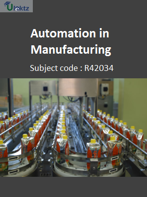 Important Question for Automation in Manufacturing
