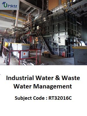 Important Question for Industrial Water & Waste Water Management