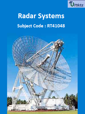 Important Question for Radar Systems