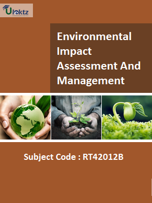 Important Question for Environmental Impact Assessment And Management