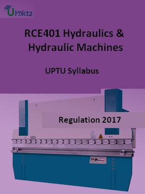 Hydraulics & Hydraulic Machines - Syllabus