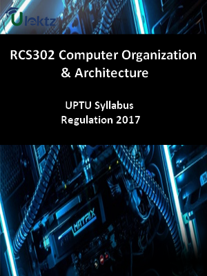 Computer Organization And Architecture  - Syllabus