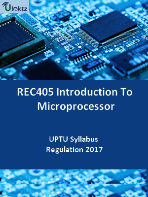Introduction To Microprocessor - Syllabus