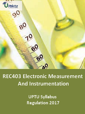 Electronic Measurement And Instrumentation - Syllabus