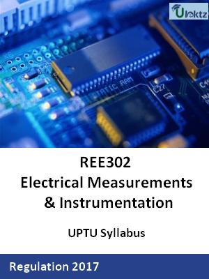 Electrical Measurements & Instrumentation - Syllabus