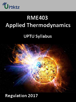 Applied Thermodynamics - Syllabus