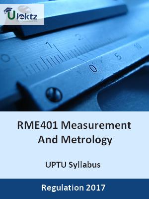 Measurement And Metrology - Syllabus