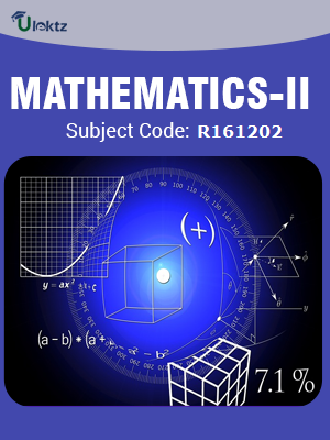 Mathematics-II   (Mathematical Methods)