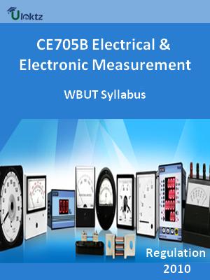 Electrical & Electronic Measurement  - Syllabus