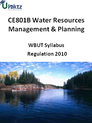 Water Resources Management & Planning - Syllabus