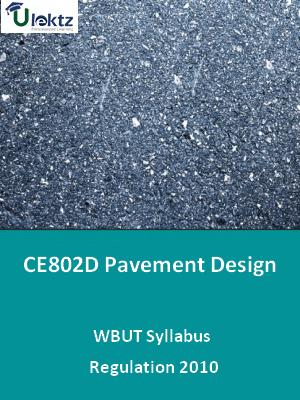 Pavement Design - Syllabus
